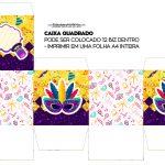 Caixa Cubo ou Bis Carnaval