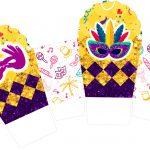 Caixa Cupcake Carnaval