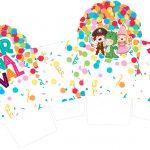 Caixa Cupcake Festa Carnaval Infantil