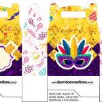Caixa bombom Carnaval
