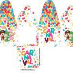 Caixa com Foto Festa Carnaval Infantil