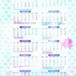 Calendario 2022 Sereia