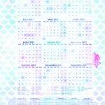 Calendario Professor Sereia 2021