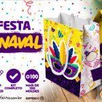 Carnaval Kit Festa Gratis para Baixar e Imprimir em Casa