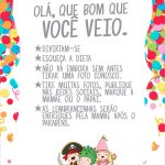 Cartao Agradecimento Quadro Festa Carnaval Infantil