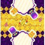 Cartao Agradecimento de mesa Carnaval