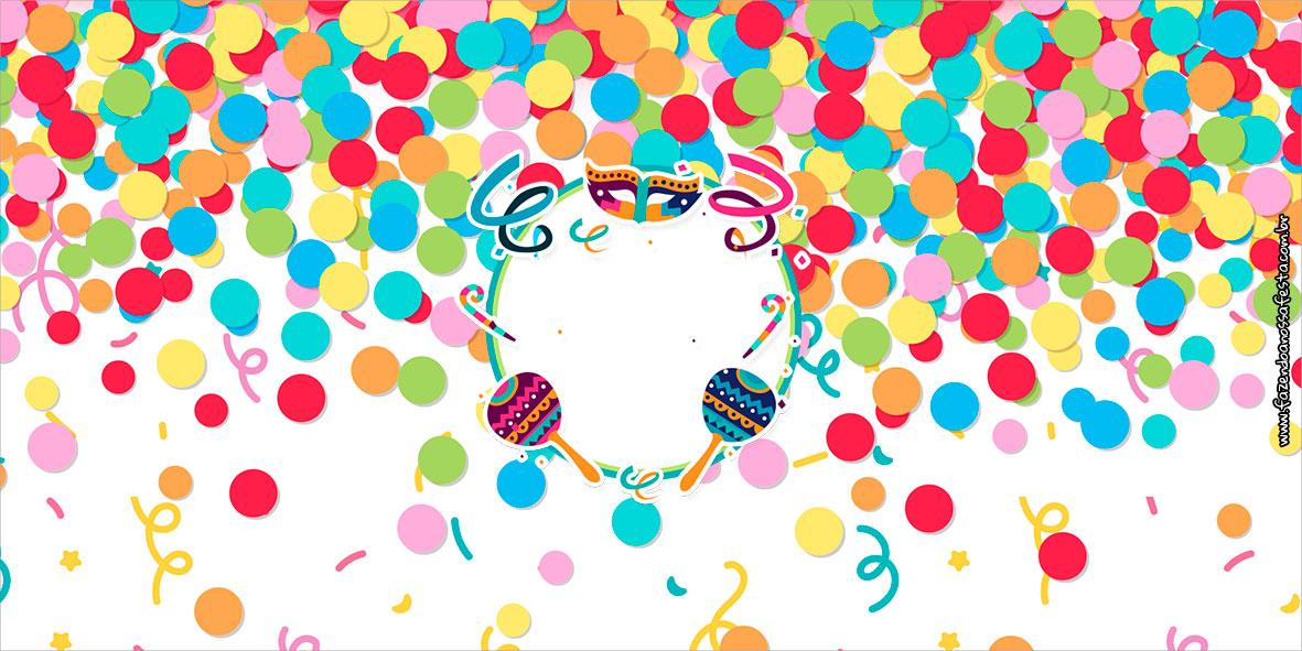 Cofrinho Festa Carnaval Infantil