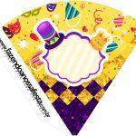 Cone Guloseimas Carnaval