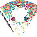 Cone Guloseimas Festa Carnaval Infantil