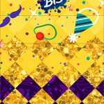 Convite Bis Duplo 3D Carnaval