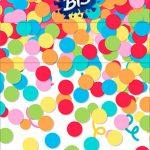 Convite Bis Duplo 3D Festa Carnaval Infantil