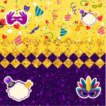 Convite Caixa Fundo Carnaval