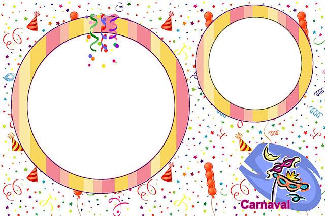 Convite Carnaval Mascaras