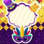 Convite Festa de Carnaval
