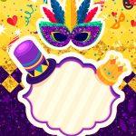 Convite Personalizado de Carnaval