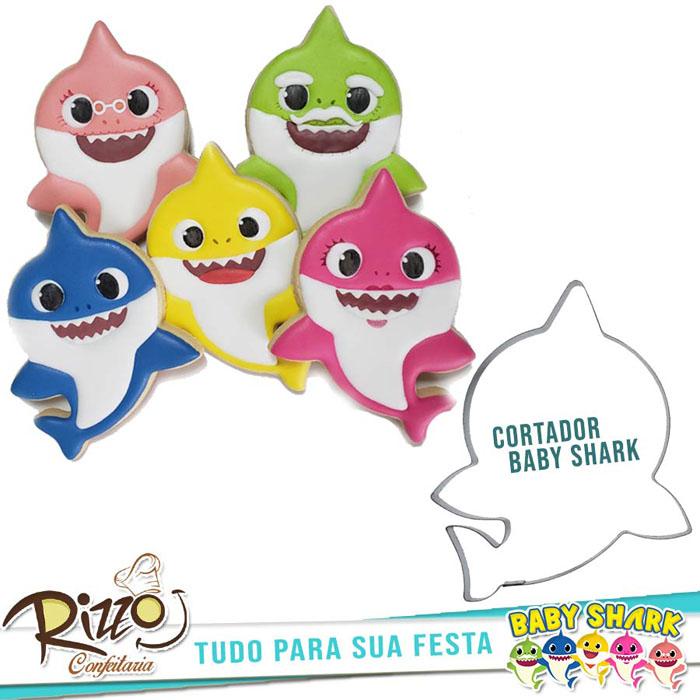 cortador baby shark Rizzo Festa