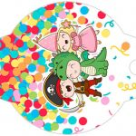 Enfeite Canudinho Festa Carnaval Infantil