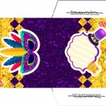 Envelope CD DVD Carnaval