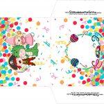 Envelope CD DVD Festa Carnaval Infantil