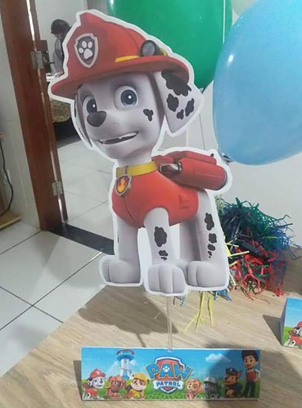 Festa Patrulha Canina do Sebastian 5