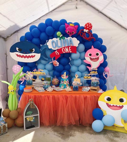 Festa tema Baby Shark 31