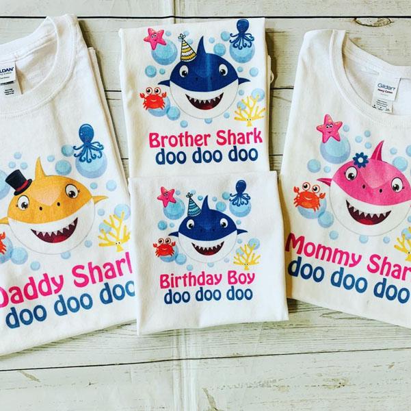 Festa tema Baby Shark 34