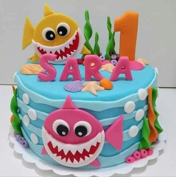 Festa tema Baby Shark 37