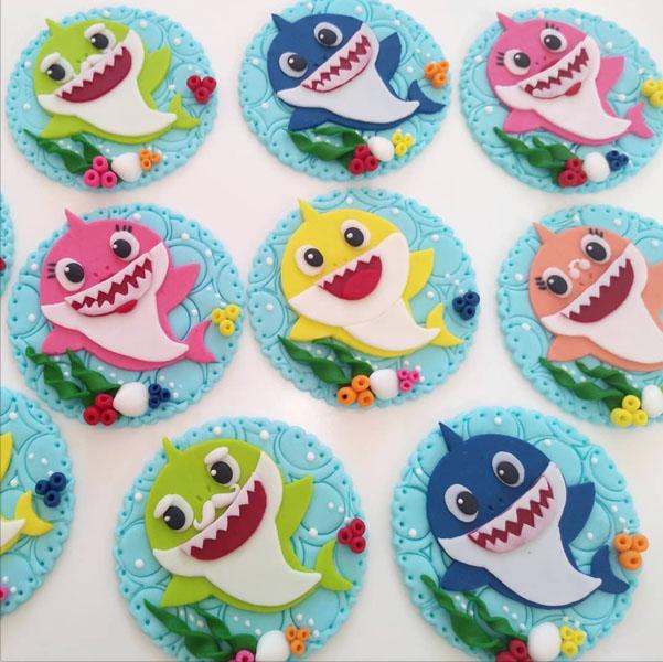 Festa tema Baby Shark 38