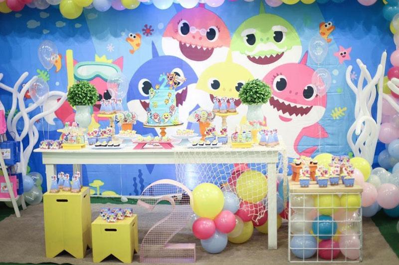 Festa tema Baby Shark 39