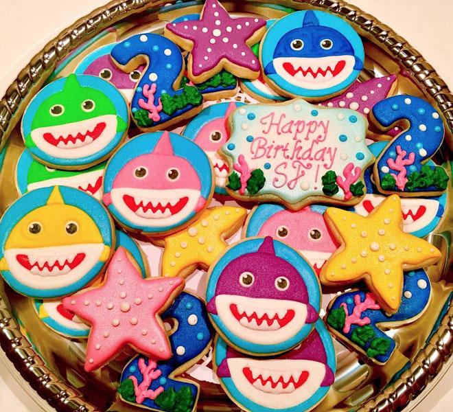 Festa tema Baby Shark 41