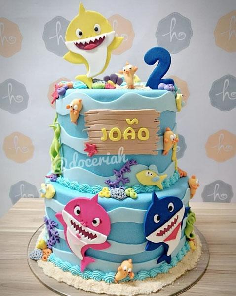 Festa tema Baby Shark 50