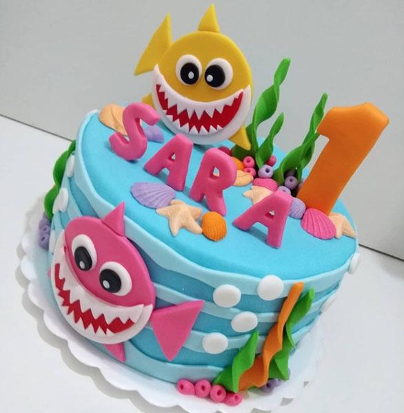 Festa tema Baby Shark 51