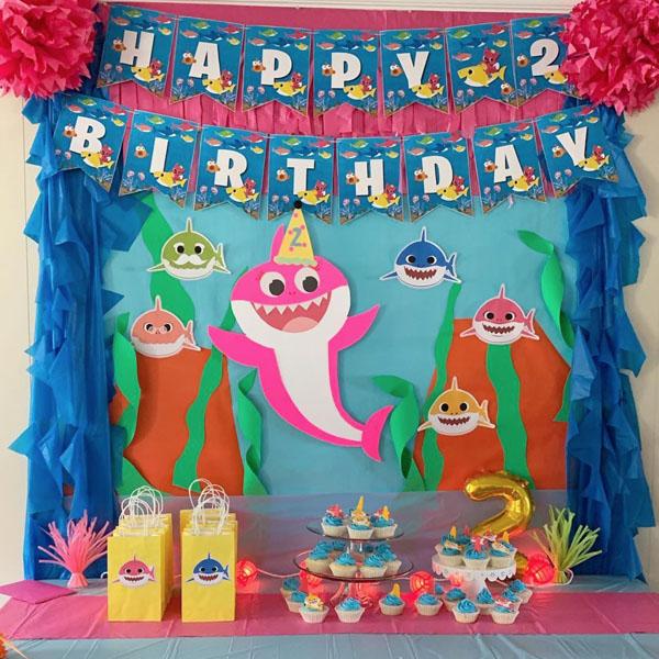 Festa tema Baby Shark 54