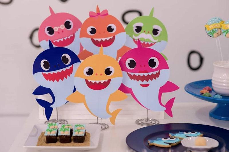 Festa tema Baby Shark 58