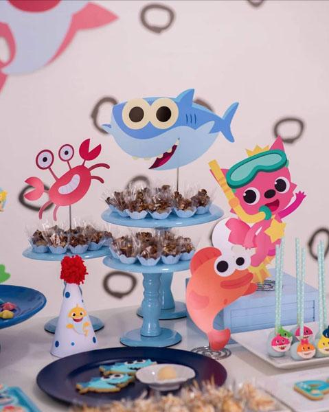 Festa tema Baby Shark 59