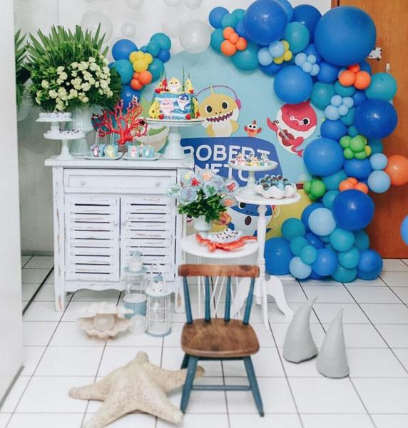 Ideias Festa Infantil Baby Shark 18