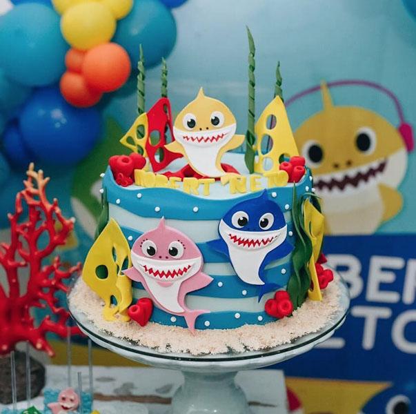 Ideias Festa Infantil Baby Shark 20