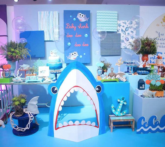 Ideias Tema Baby Shark 22