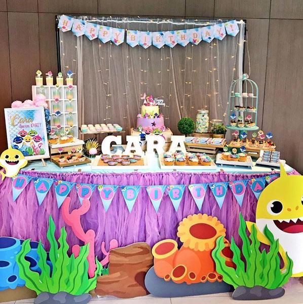 Ideias Festa Infantil Baby Shark 26