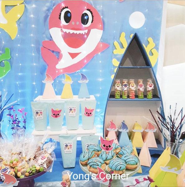 Ideias Festa Infantil Baby Shark 27