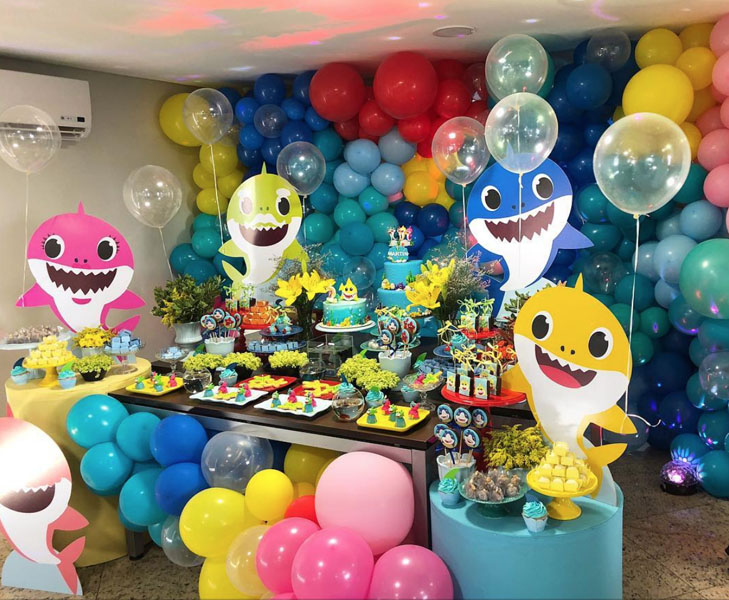 Ideias Festa do Baby Shark 1