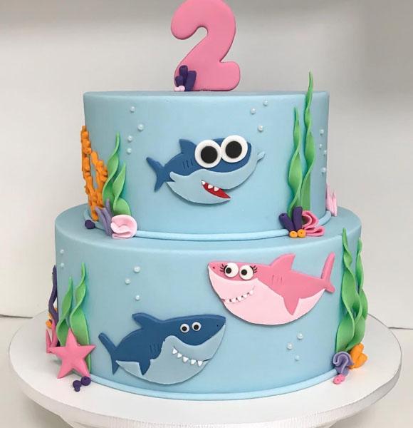 Ideias Festa do Baby Shark 2