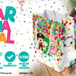 Kit Festa Carnaval Infantil para Imprimir