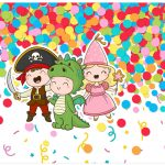 Lata de leite Festa Carnaval Infantil