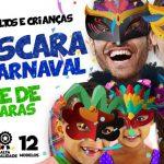 Mascaras de Carnaval coloridas para imprimir gratis