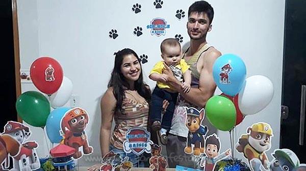 Mesversario Patrulha Canina do Sebastian 10