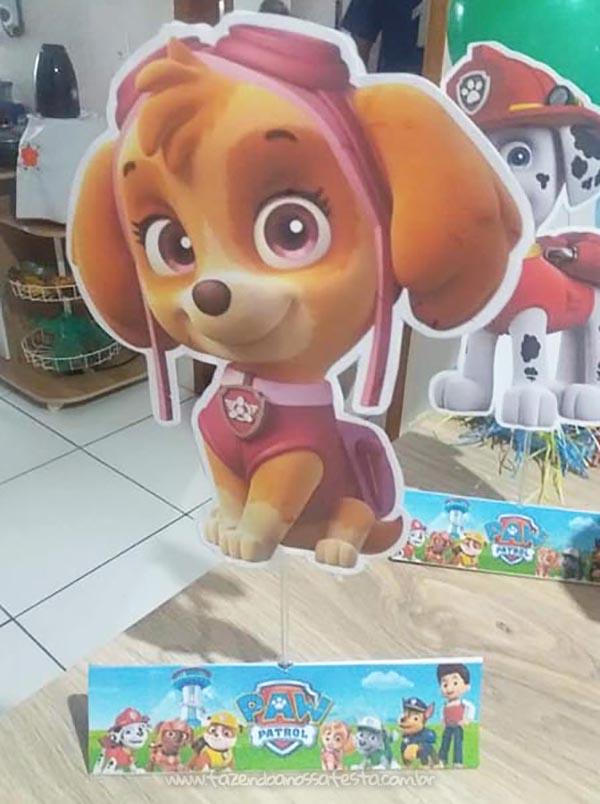 Mesversario Patrulha Canina do Sebastian 2