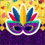 Molde Caixinha Acrilico Carnaval