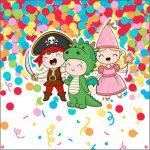 Molde Caixinha Acrilico Festa Carnaval Infantil