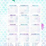 Planner 2020 Sereia Calendario